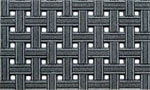 Gray Doormat - Weave Gray
