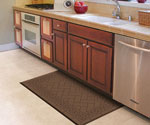 Kitchen mats with the feel of gel mats