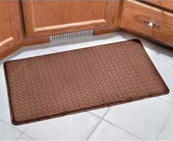 kitchen padded floor mats comfort chef anti fatigue gel mats for the kitchen 5446