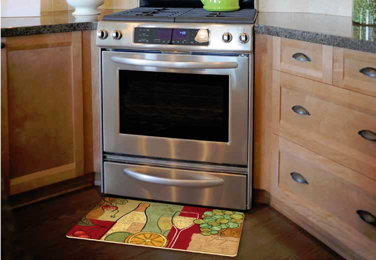 kitchen floor mats - Cushion Kitchen Mats