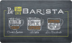 Foam Kitchen Mat: Barista