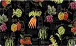 Decorative Kitchen Mat: Canning Veggies