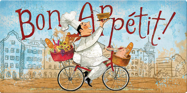 Chef On A Bike