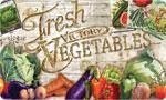 Beautiful Kitchen Mat: Fresh Victory Vegetables