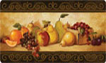 Beautiful Kitchen Mat: Gourmet Fruit