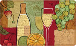 Beautiful Kitchen Mat: Sangria Wine and Fruit