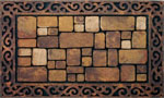outside door mats - Aberdeen Brown