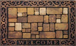 large door mats - Aberdeen Welcome