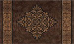 outside door mats - Crocodile Medallion