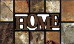 home doormats - Home Slate Brown