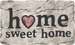 home doormats - Home Sweet Home Stone
