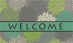 home doormats - Latigo Bay Mums Gray