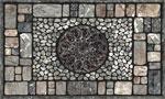 home doormats - Notre Dame Graystone
