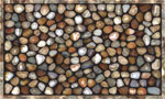 home doormats - River Rocks