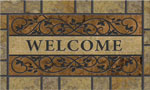 home doormats - Saddle Back Stone Brown