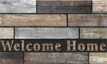 home doormats - Welcome Home Slats