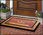 Doormats: Outdoor Door Mats & Indoor Mats - Home Front Door Mats