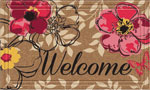 Welcome Door Mats - Floral Paradise