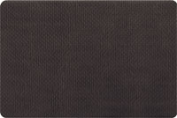 Foam Kitchen Mats - Basket Weave in Black