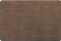 Foam Kitchen Floor Mats - Basket Weave in Brown
