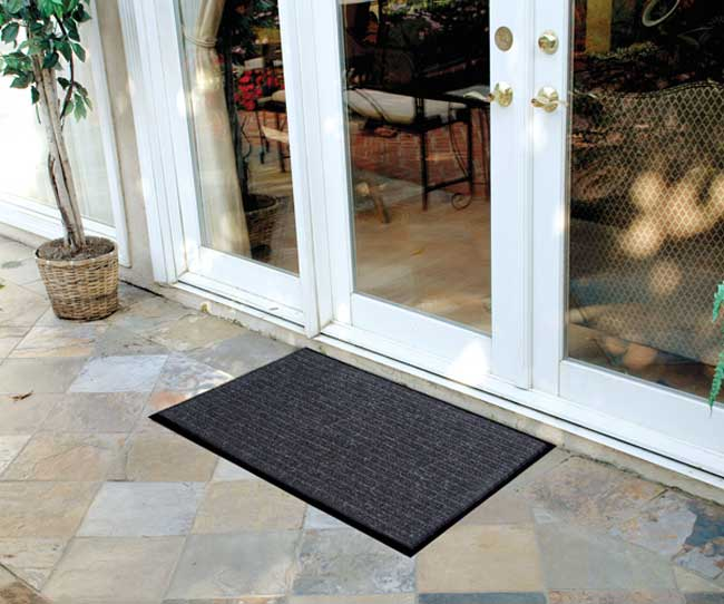 Economical Multi-Unit Rib Door Mats - Case of 12