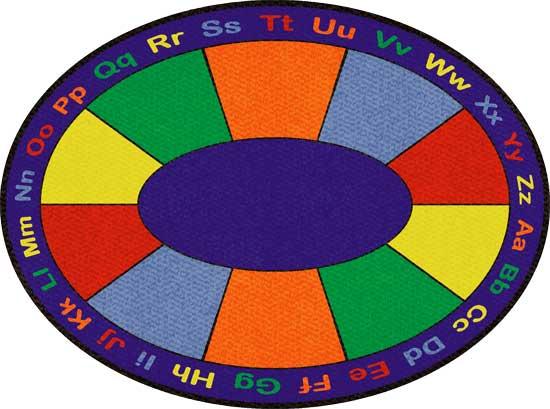 School Rugs: ABC Squares