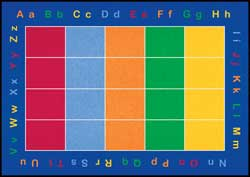 Classroom Carpets: ABC Squares