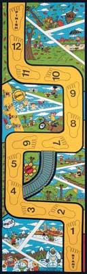 Seasons Rug, Educational Rugs, Kids Play Mats: Let's Learn To Balance