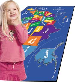 Educational Play Carpets and Play Rugs