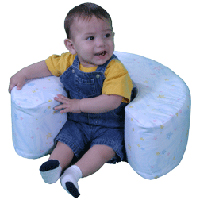 Baby Sit Up Ring Provides Baby Sitting Support