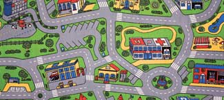 Cars Play Mats - City Life