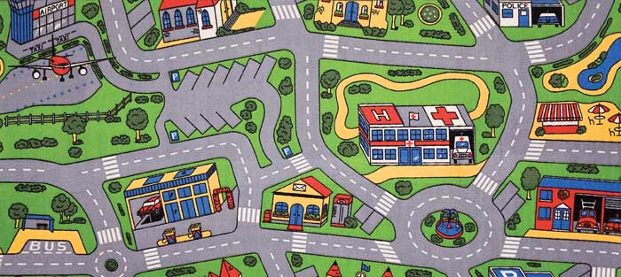 Cars Play Mats City Life