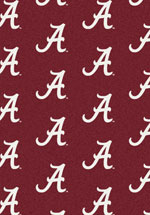 University of Alabama Rug