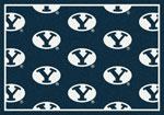BYU University Rug