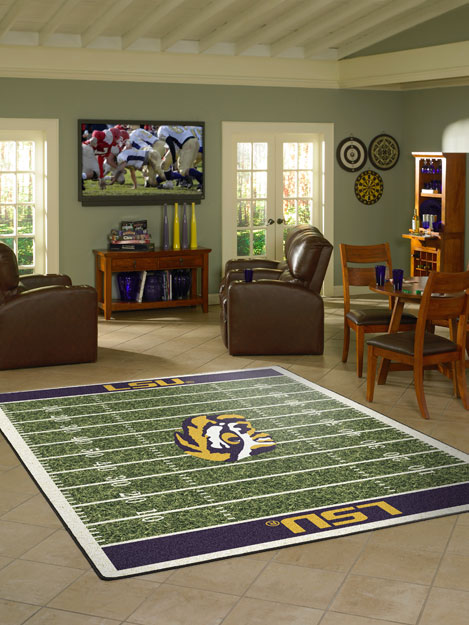 Show Your School Spirit With Our Officially Licensed College Sports Mats And Logo Rugs
