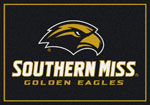 Southern Mississippi Golden Eagles Rug
