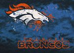 Denver Broncos Area Rug