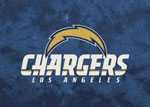 Los Angeles Chargers Area Rug