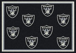 Oakland Raiders Area Rug