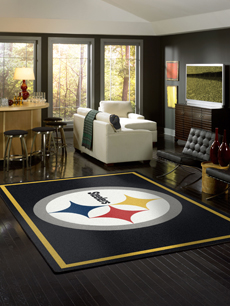 Pittsburg Steelers Rug - NFL Area Rugs