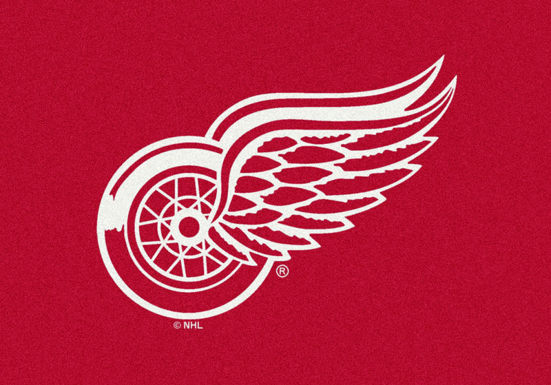 Detroit Redwings Sports Rug