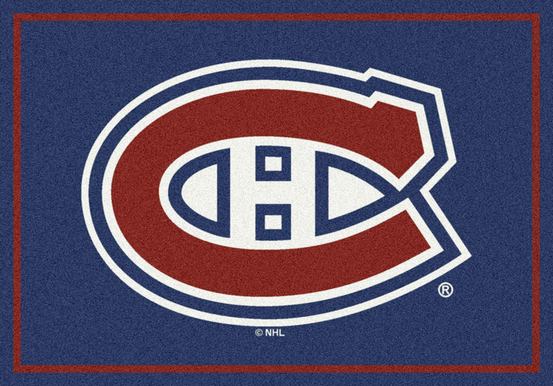 Montreal Canadians Sports Rug
