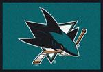 San Jose Sharks Sports Rug