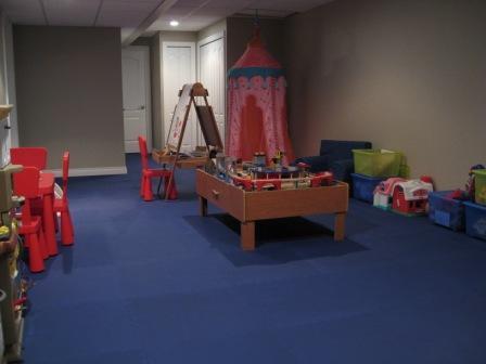 Playroom Flooring - Interlocking Foam Tiles