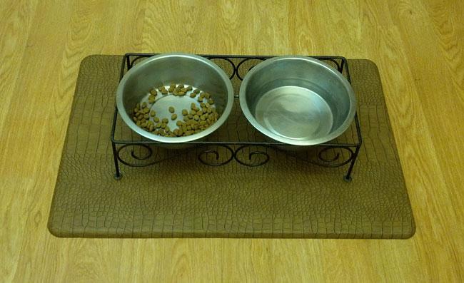 Pet Placemat Dog Food Mat Pet Food Mat