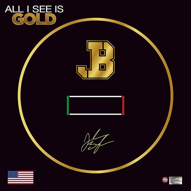 Jordan Burroughs Black Custom Wrestling Mat For Home