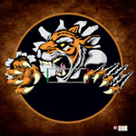 Custom Printed LiteWeight Wrestling Mats Tiger