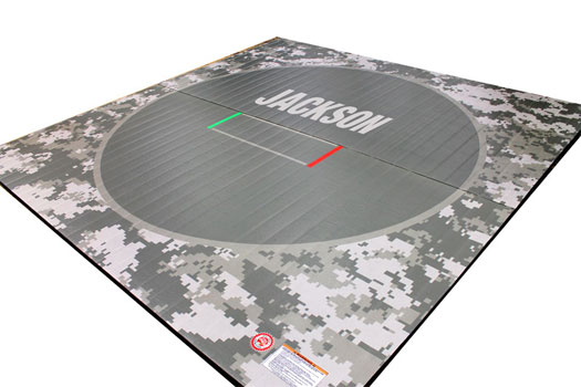 Custom Printed LiteWeight Wrestling Mats