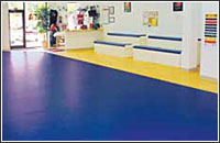 Martial Arts Seamless Flooring