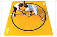 Lightweight Wrestling Mats, New and Remnant Wrestling Mats